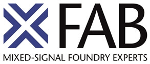 Logo of the X-FAB Semiconductor Foundries AG
